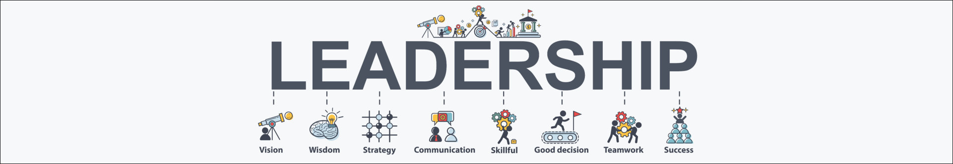 Leadership banner